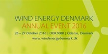 WIND ENERGY DENMARK - Annual Event 2016